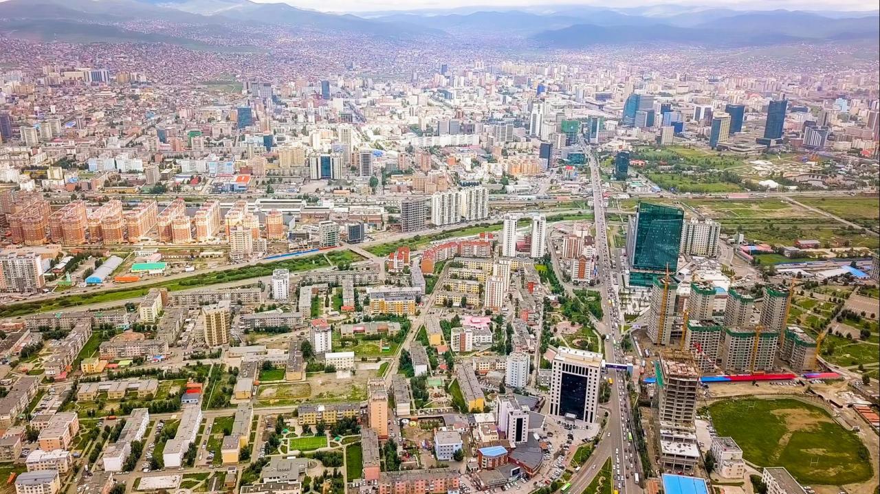 عاصمة منغوليا الشعبية أولان باتور