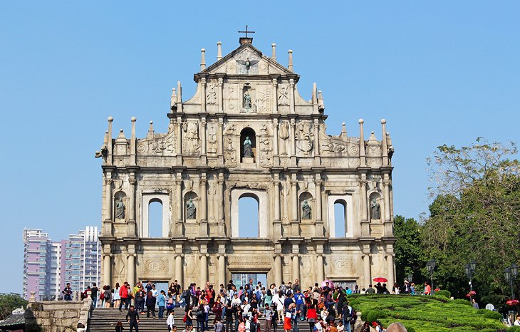أطلال القديس بولس في عاصمة مكاو