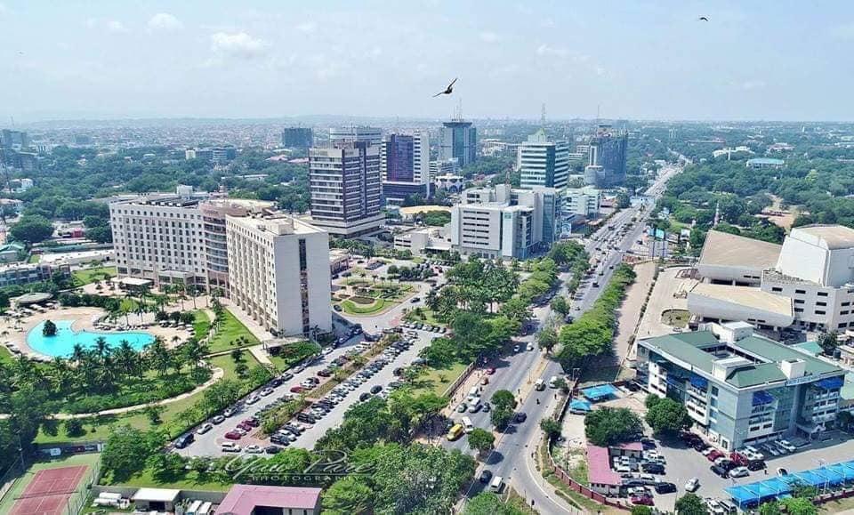 عاصمة غانا هي مدينة أكرا