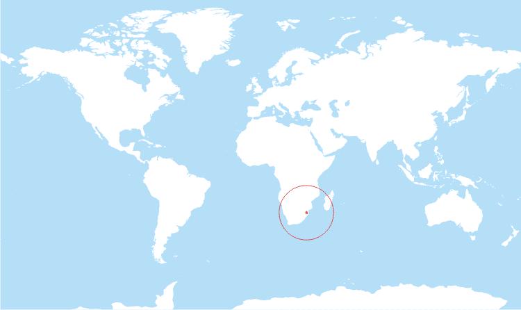 مملكة سوازيلاند أين تقع (إسواتيني حاليا)