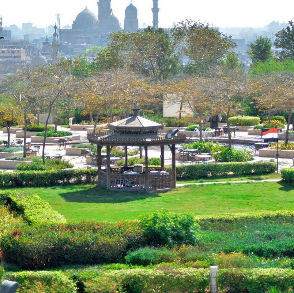 سحر حديقة الأزهر | أماكن للخروج في القاهرة للترويح