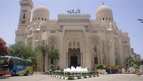تحتوي الصورة على: مسجد أبو العباس مرسي بالإسكندرية