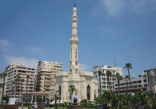 .مسجد القائد إبراهيم بالاسكندرية
