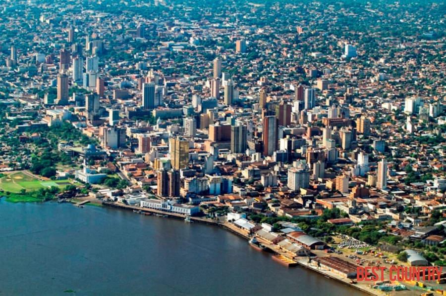 عاصمة باراغواي| صورة من أعلى