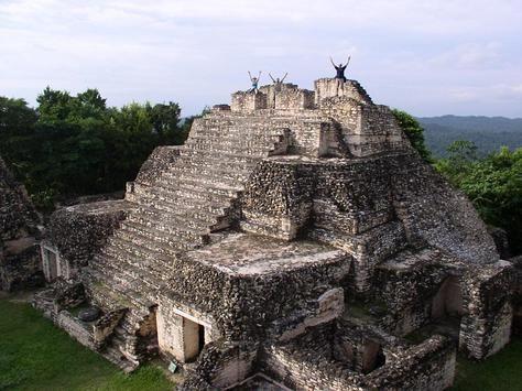 أطلال مايا القديمة في كاراكول وزونانتونيتش