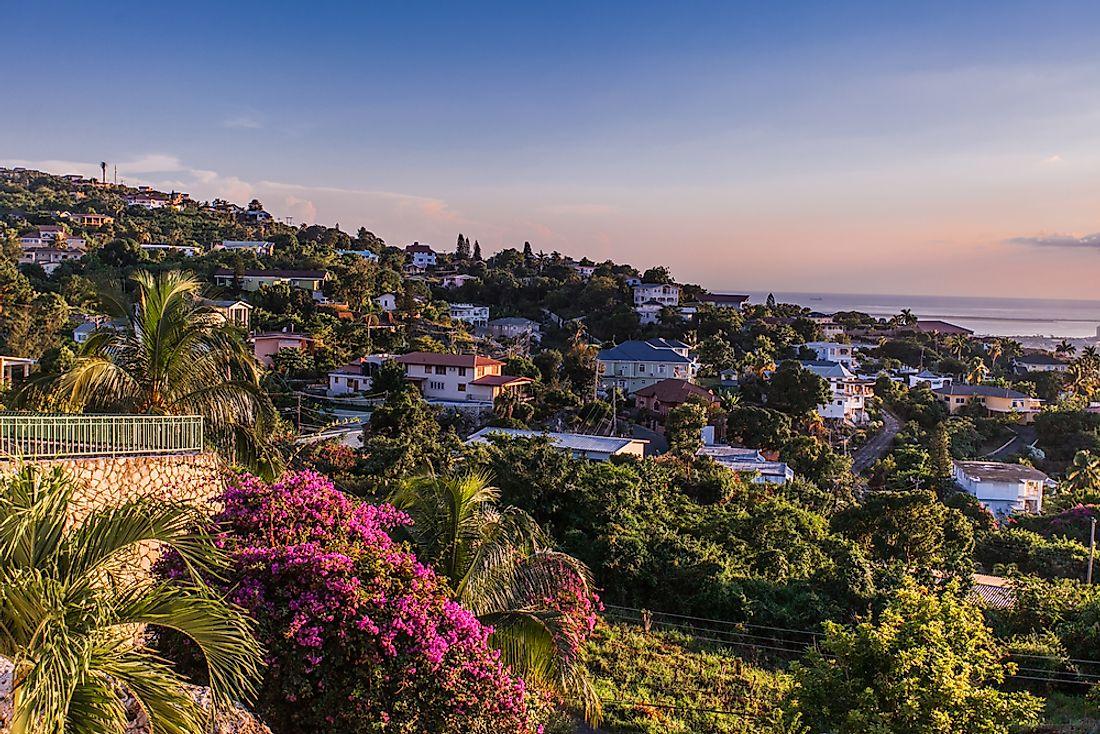 مدينة كينجستون عاصمة جامايكا