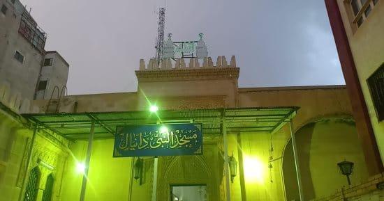 واجهة مسجد النبي دانيال