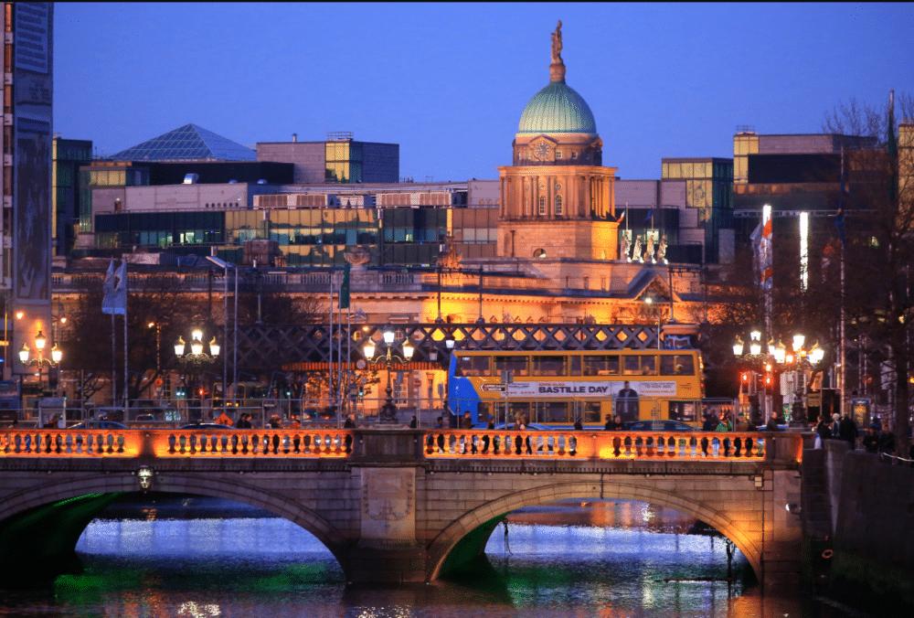 مدينة دبلن عاصمة أيرلندا