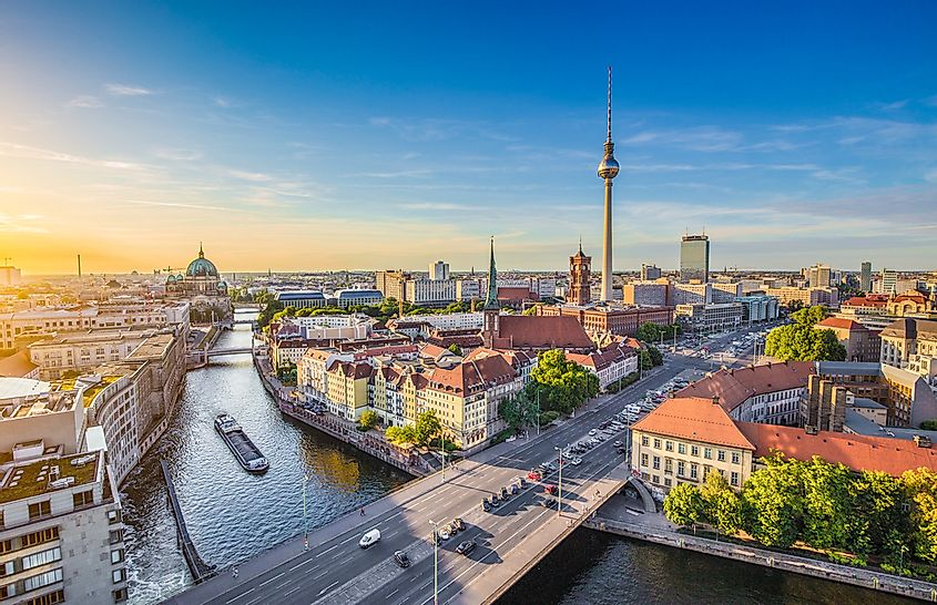مدينة برلين عاصمة ألمانيا