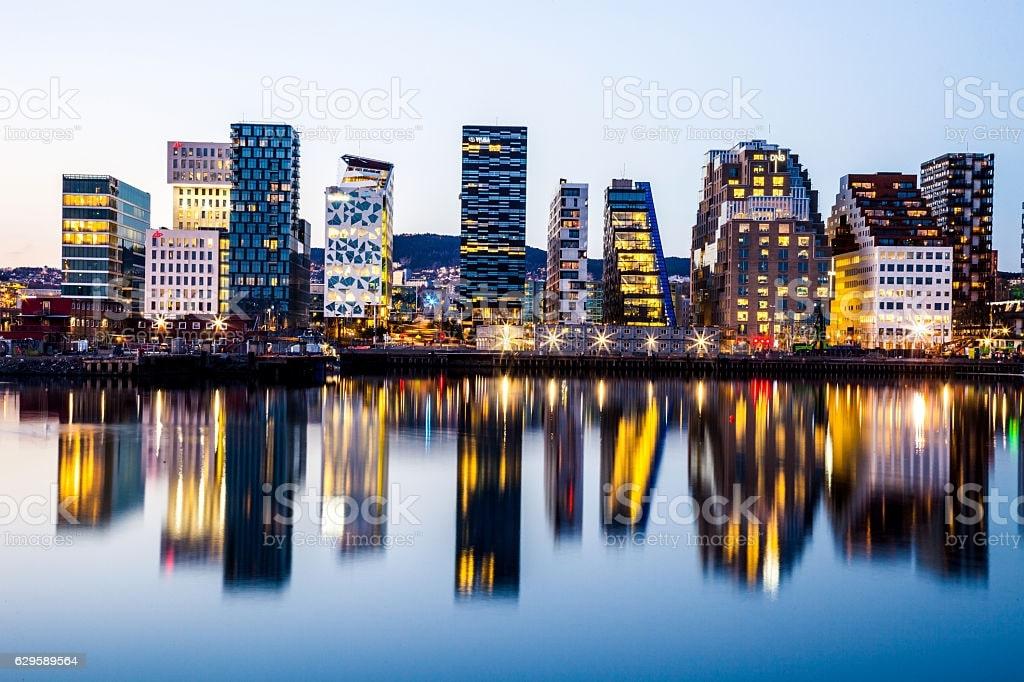 مدينة أوسلو عاصمة النرويج