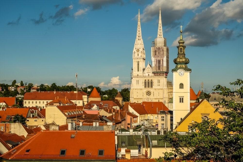 زغرب عاصمة كرواتيا