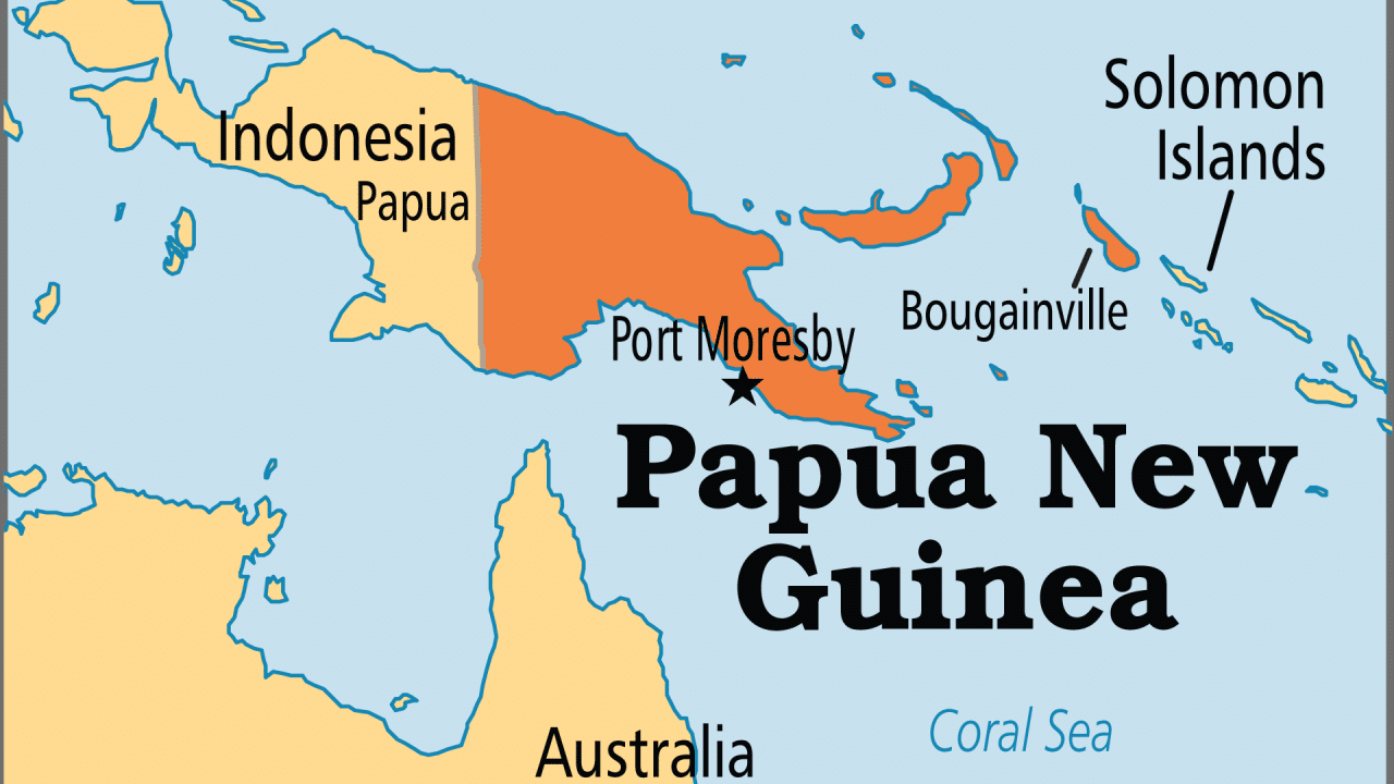 عاصمة بابوا غينيا الجديدة