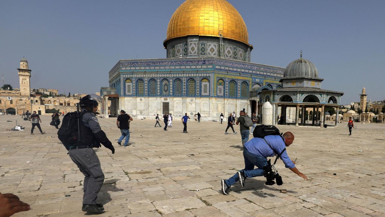 تعبير عن مدينة القدس
