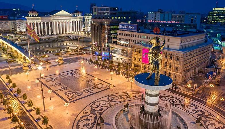 سكوبيه عاصمة مقدونيا