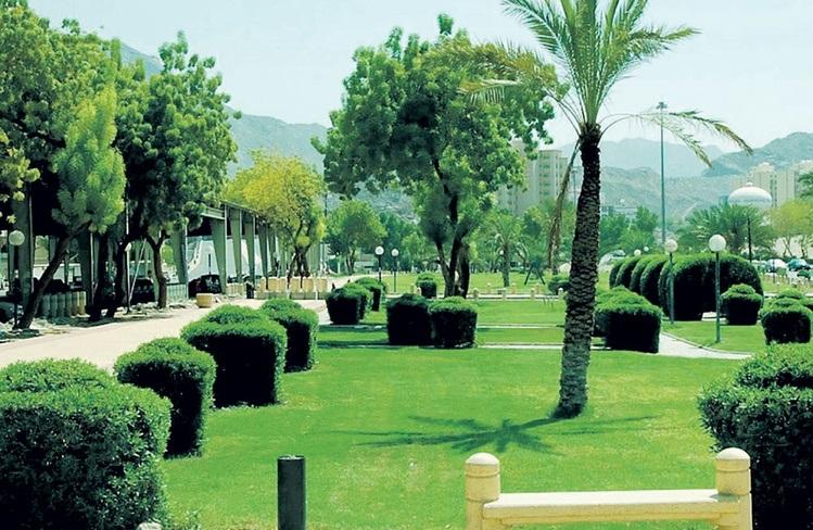 مدينة مكة المكرمة الموقع والمساحة 1- حديقة الحسينية
