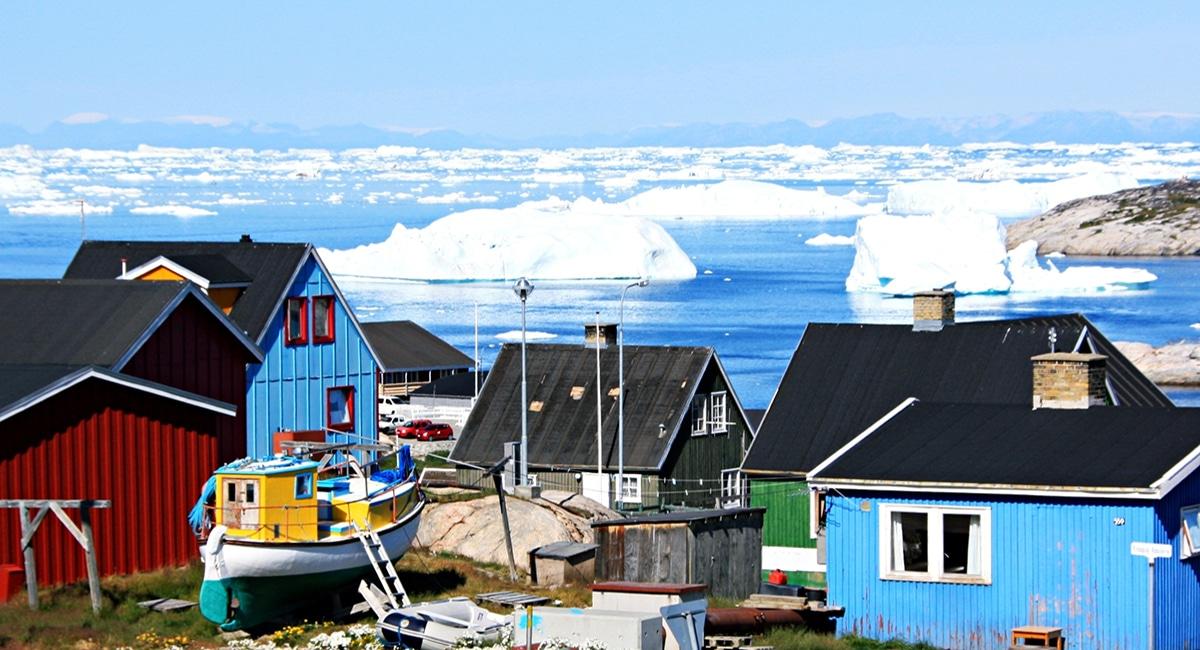 جرينلاند أكبر جزيرة في العالم
