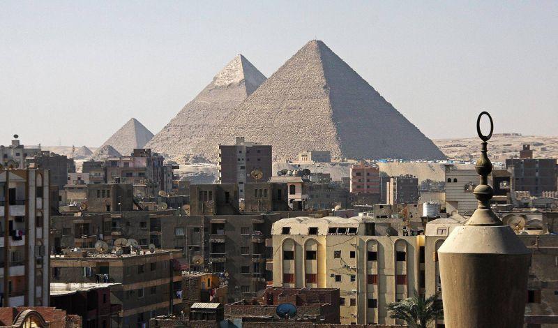 القاهرة أكبر مدينة في مصر