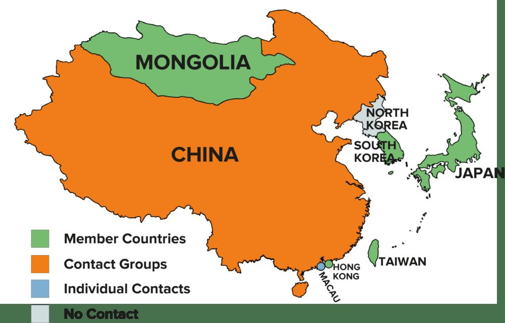 دول شرق آسيا