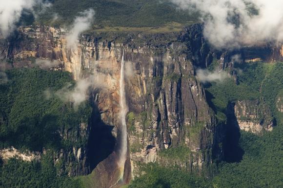 شلالات آنجل أعلى شلالات في العالم